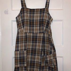 Plaid American Eagle Dress